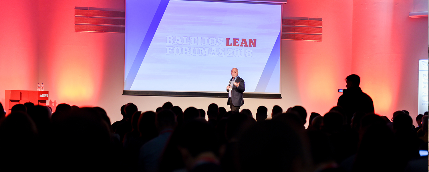 Impressions from the Baltic Lean Forum in 2018
