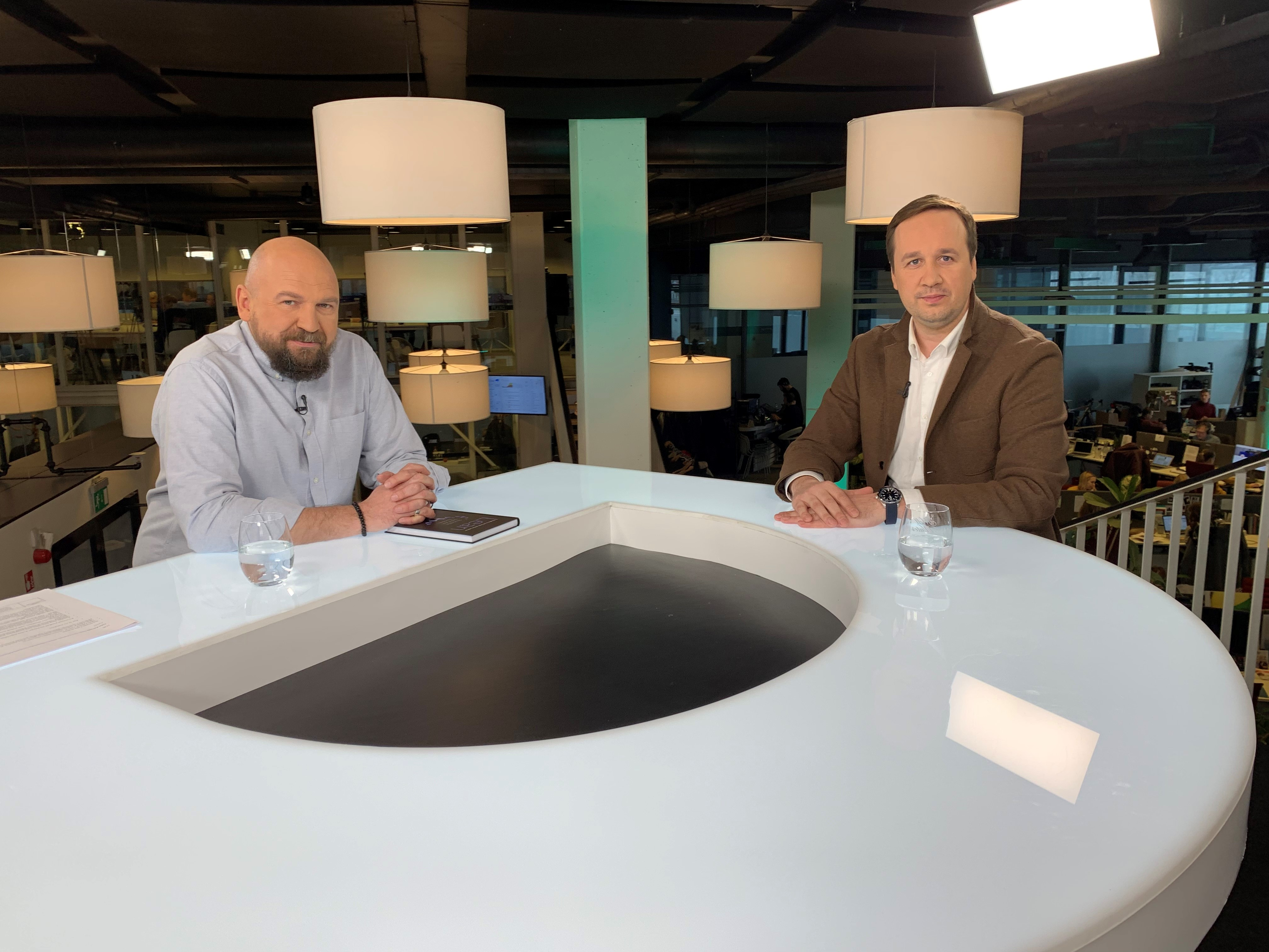 """Lean LT"" vadovo Vido Petraičio interviu Delfi TV laidai ""Boso valanda"""
