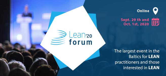 Lean forum 2020