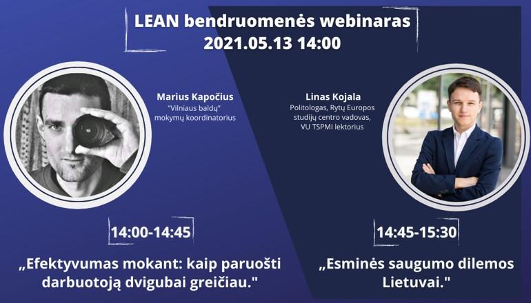 Nuotolinis Lean bendruomenės susitikimas