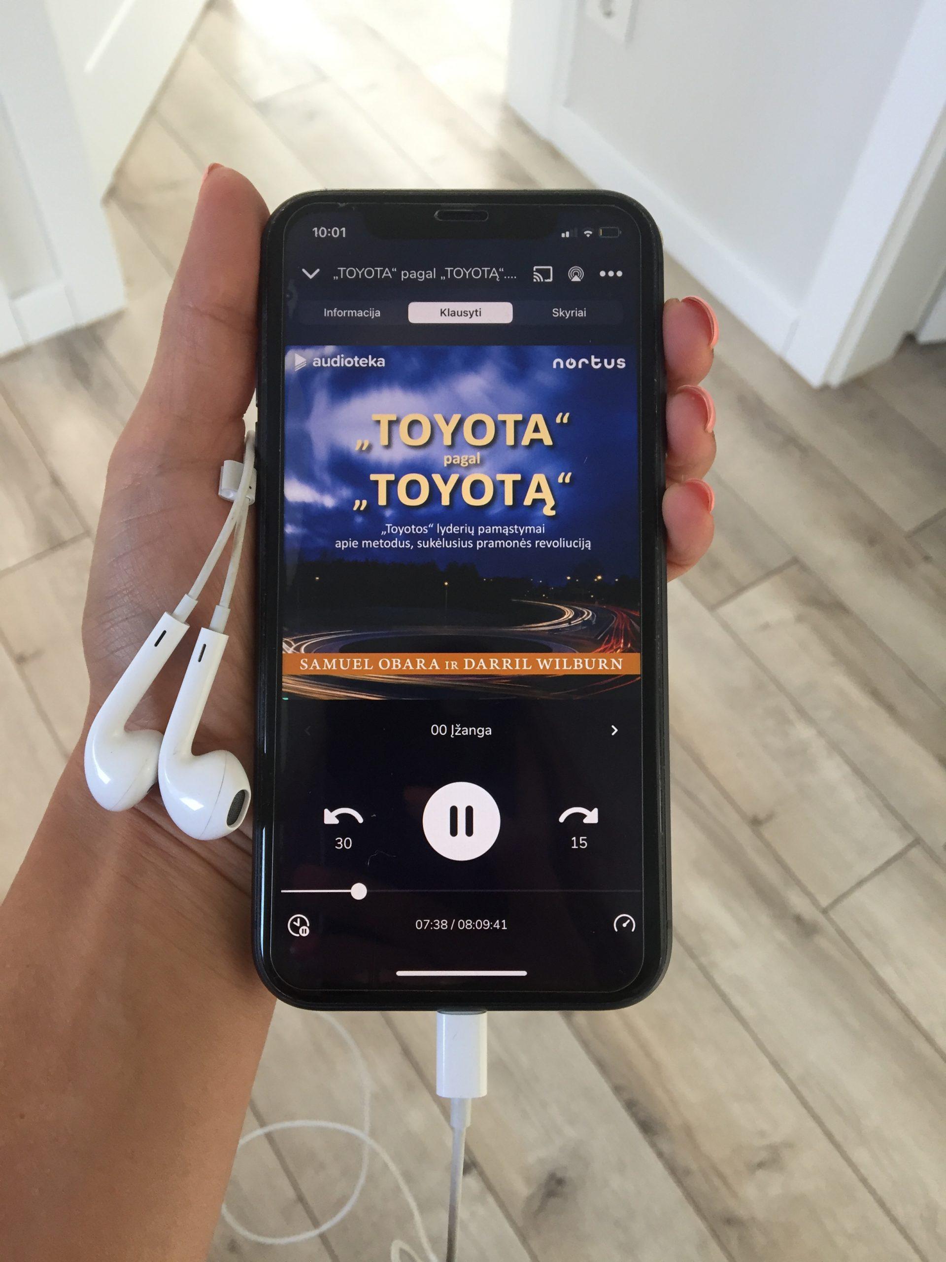 """Mūsų naujiena – ką tik išleista audioknyga """"Toyota pagal Toyotą"""""""